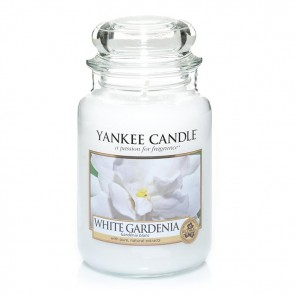 Yankee Candle White Gardenia 623g - Duftkerze