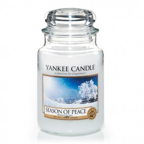 Yankee Candle Season Of Peace 623g - Duftkerze