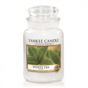 Yankee Candle White Tea 623g - Duftkerze