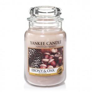 Yankee Candle Ebony & Oak 623g - Duftkerze