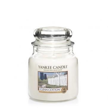 Yankee Candle Clean Cotton 411g - Duftkerze