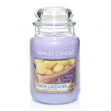 Yankee Candle Lemon Lavender 623g - Duftkerze