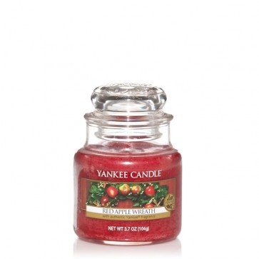 Yankee Candle Red Apple Wreath 104g - Duftkerze
