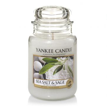 Yankee Candle Sea Salt & Sage 623g - Duftkerze