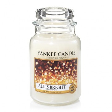 Yankee Candle All Is Bright 623g - Duftkerze