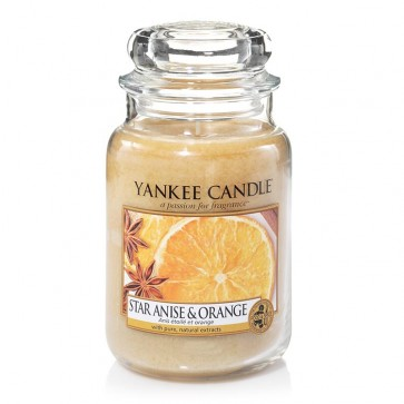 Yankee Candle Star Anise & Orange 623g - Duftkerze