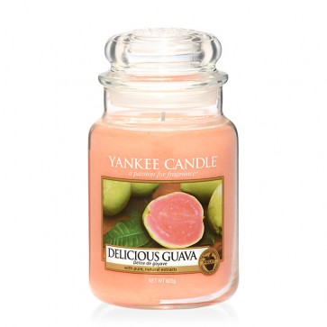 Yankee Candle Delicious Guava 623g - Duftkerze