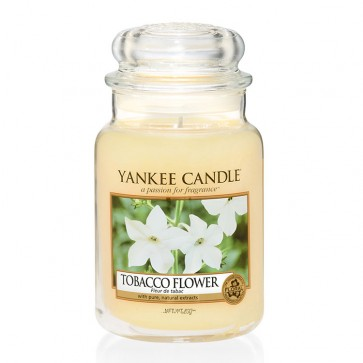 Yankee Candle Tobacco Flower 623g - Duftkerze