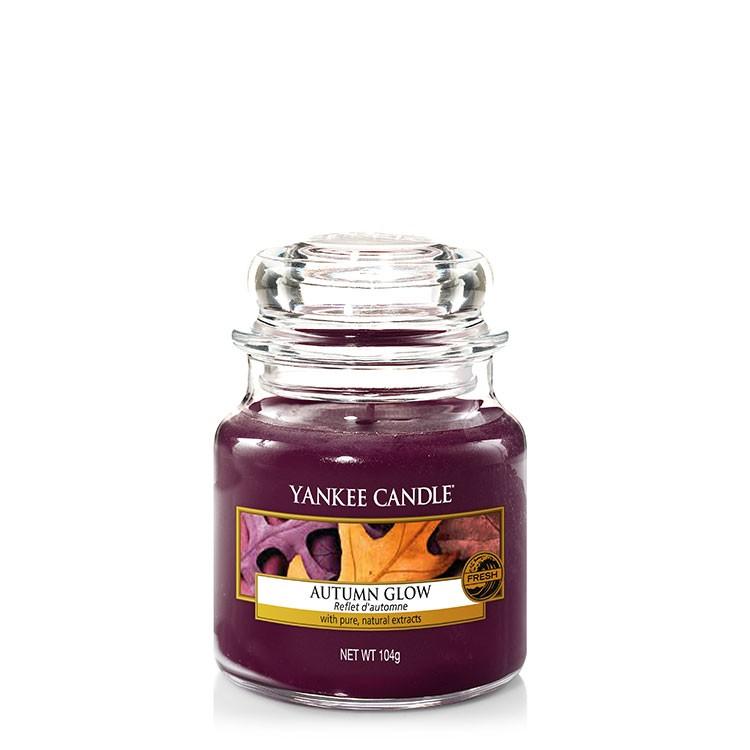 yankee candle autumn glow 104g frisch dunkelrot 1556220e. Black Bedroom Furniture Sets. Home Design Ideas