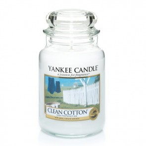 Yankee Candle Clean Cotton Housewarmer 623g - Duftkerze