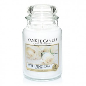 Yankee Candle Wedding Day 623g - Duftkerze