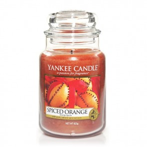 Yankee Candle Spiced Orange 623g - Duftkerze