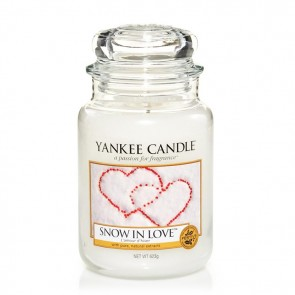 Yankee Candle Snow in Love 623g - Duftkerze