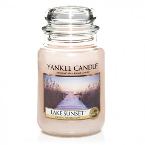 Yankee Candle Lake Sunset 623g - Duftkerze
