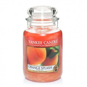 Yankee Candle Orange Splash 623g - Duftkerze