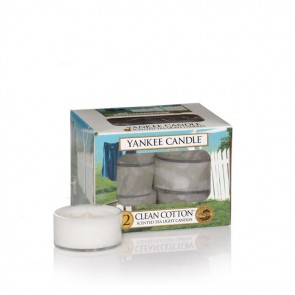 Yankee Candle Clean Cotton Teelichter 118 g