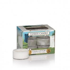 Yankee Candle Clean Cotton Teelichter 118 g