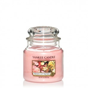 Yankee Candle Fresh Cut Roses 411g - Duftkerze