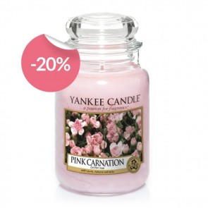 Yankee Candle Pink Carnation 623g - Duftkerze