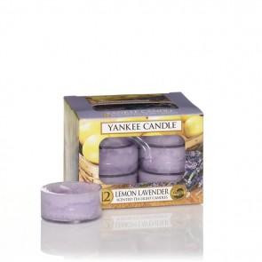 Yankee Candle Lemon Lavender Teelichter 118 g - Duftkerze