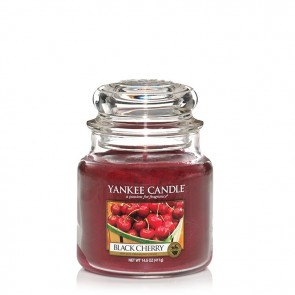 Yankee Candle Black Cherry 411g - Duftkerze