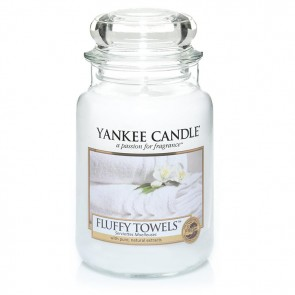Yankee Candle Fluffy Towels 623g  - Duftkerze