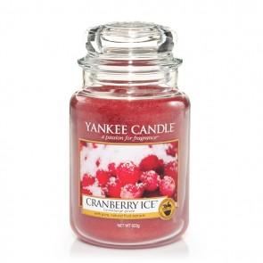 Yankee Candle Cranberry Ice 623g - Duftkerze