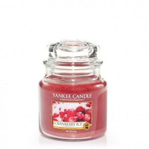 Yankee Candle Cranberry Ice 411g - Duftkerze