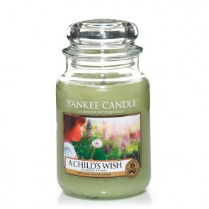 Yankee Candle A Child´s Wish 623g - Duftkerze