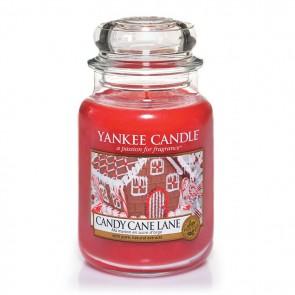 Yankee Candle Candy Cane Lane 623g - Duftkerze