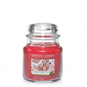 Yankee Candle Candy Cane Lane 411g - Duftkerze
