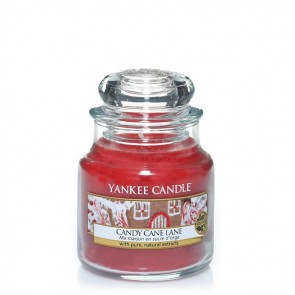 Yankee Candle Candy Cane Lane 104 g - Duftkerze