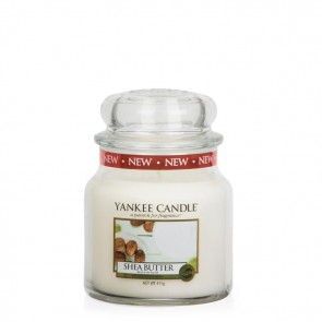 Yankee Candle Shea Butter 411 g - Duftkerze