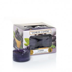 Yankee Candle Cassis Teelichter 118 g