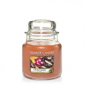 Yankee Candle Oud Oasis 411g - Duftkerze