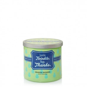 Yankee Candle Sparkle. Twinkle. Hugs. Thanks. (Meadow Showers) 2-Docht 283 g
