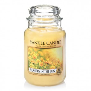Yankee Candle Flower In The Sun 623g - Duftkerze