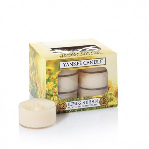 Yankee Candle Flowers In The Sun Teelichter 118 g
