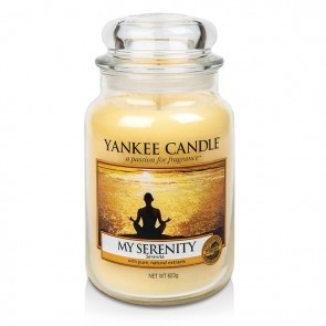 Yankee Candle My Serenity 623g - Duftkerze