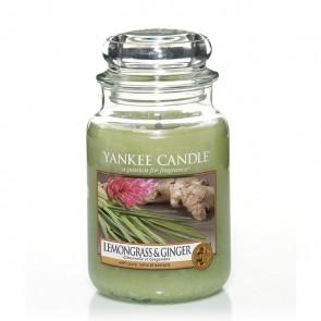 Yankee Candle Lemongrass & Ginger 623g - Duftkerze