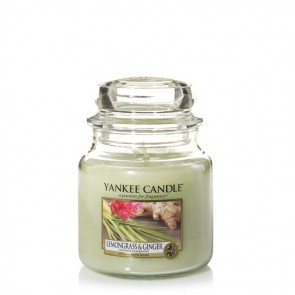 Yankee Candle Lemongrass & Ginger 411g - Duftkerze