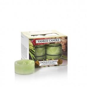 Yankee Candle Lemongrass & Ginger Teelichter 118 g - Duftkerze