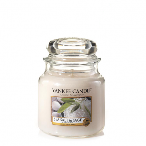 Yankee Candle Sea Salt & Sage 411g - Duftkerze