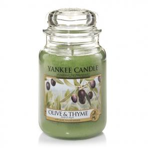 Yankee Candle Olive & Thyme 623g - Duftkerze