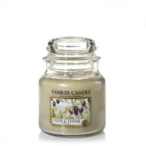 Yankee Candle Olive & Thyme 411g - Duftkerze