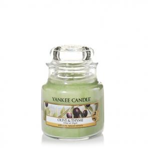 Yankee Candle Olive & Thyme 104 g - Duftkerze