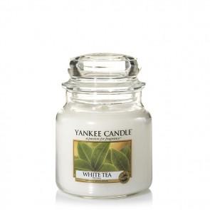 Yankee Candle White Tea 411g - Duftkerze