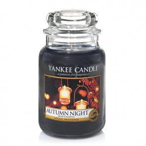 Yankee Candle Autumn Night 623g - Duftkerze
