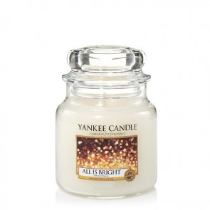 Yankee Candle All Is Bright 411g - Duftkerze