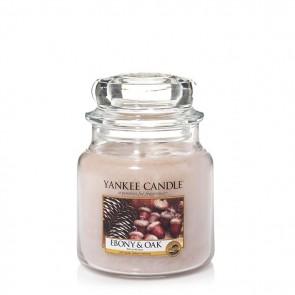 Yankee Candle Ebony & Oak 411g - Duftkerze